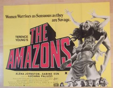 The Amazons (1973) - UK Quad Poster